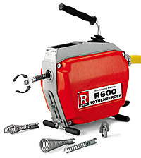 Rothenberger R 600 Drain cleaning Machine, Pipe and Drain Cleaning